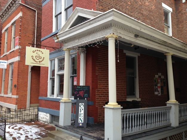 The groove coffee house on mainstrasse in covington ky for Wrap house covington